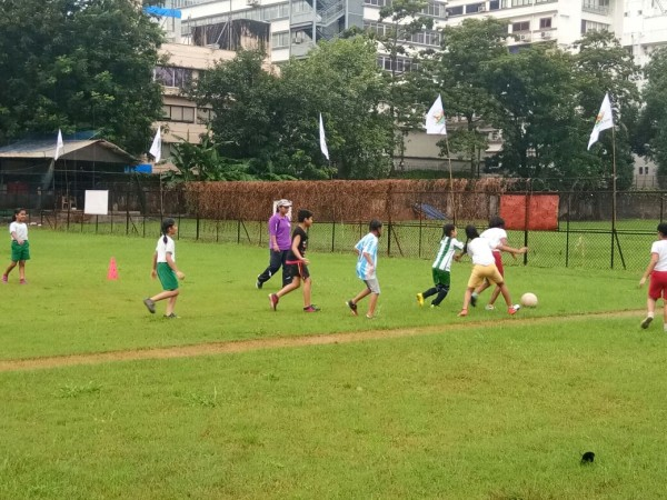 Football Festival organised by Education Dept.