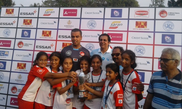 Runners up at the Milind Deora Football tournament