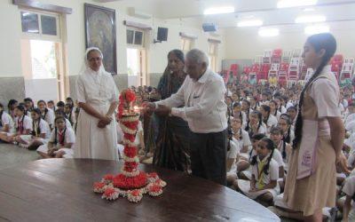 Farewell to Mr. Devnath Singh (P.T. teacher)