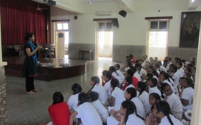 A talk for Interact Club students